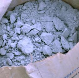 Затвердевший цемент